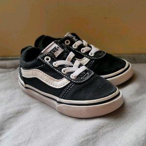 Vans Old School Black Canvas Toddler Sz 6